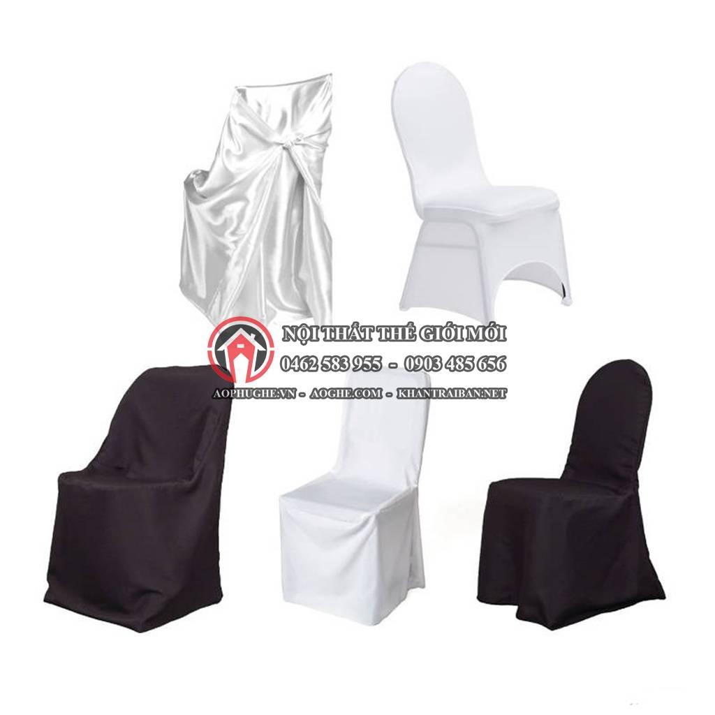 áo bọc ghế nhà hàng tiệc cưới